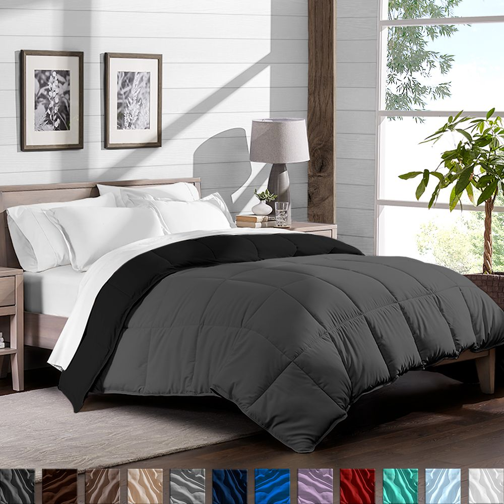Fold Back The Comforter And Get The Contrast That Spices Up The