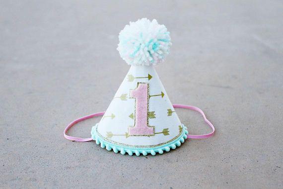 Girls Wild One Birthday Hat