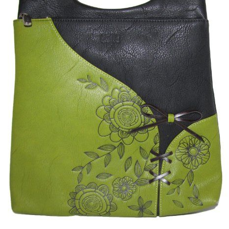 amazon espe corset cross body handbag blue