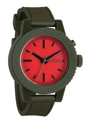 nice army green watch