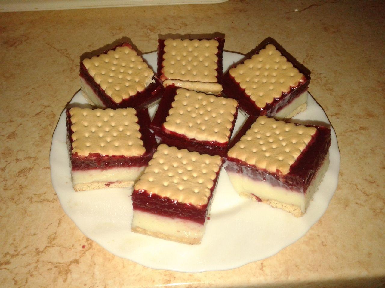 Meggyes-pudingos kekszcsoda