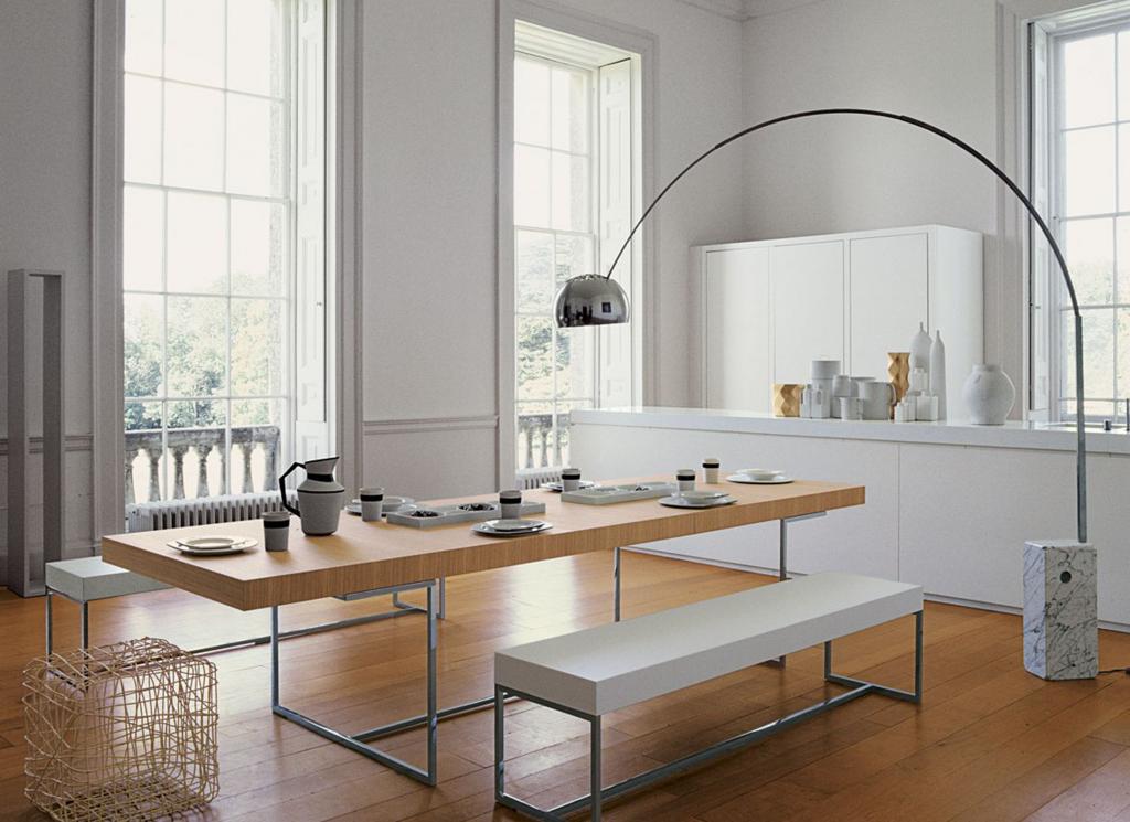 grote woonkamer keuken inrichting grote ramen - Google zoeken | lamp ...