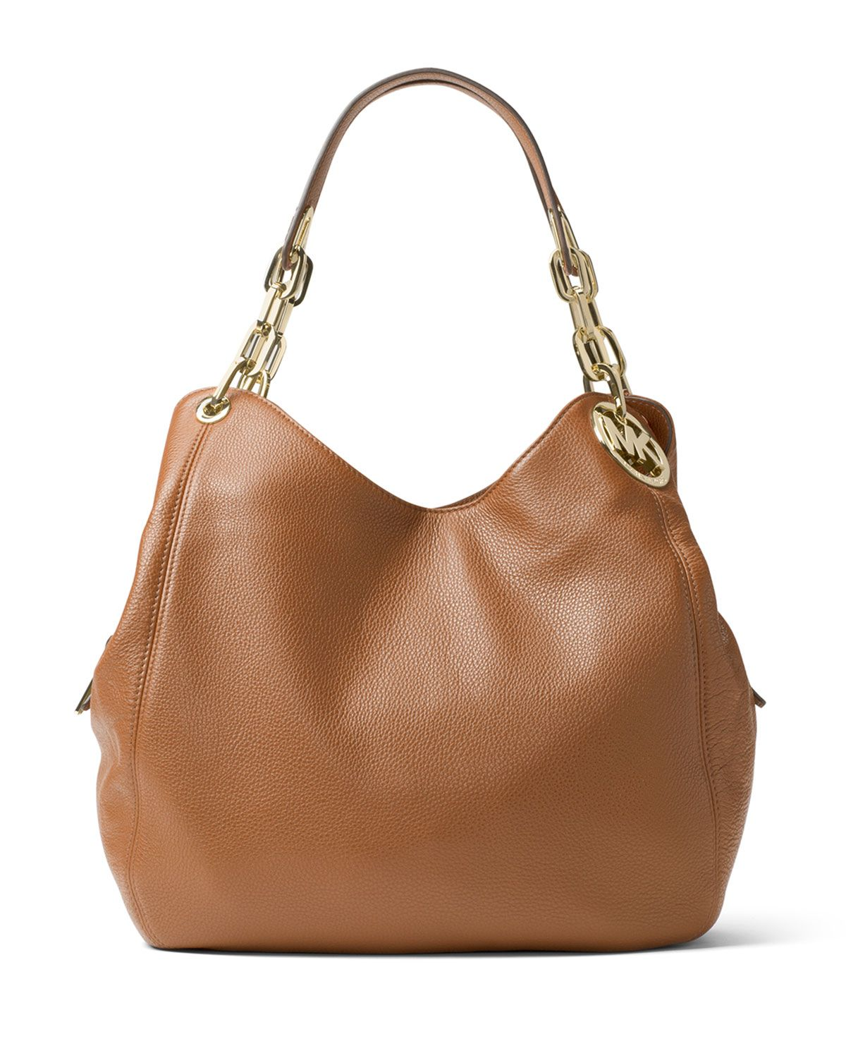 MICHAEL Michael Kors Fulton Large Leather Shoulder Tote Bag