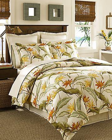 Birds Of Paradise 4 Piece California King Comforter Set Comforter Sets King Comforter Sets Affordable Bedding Sets