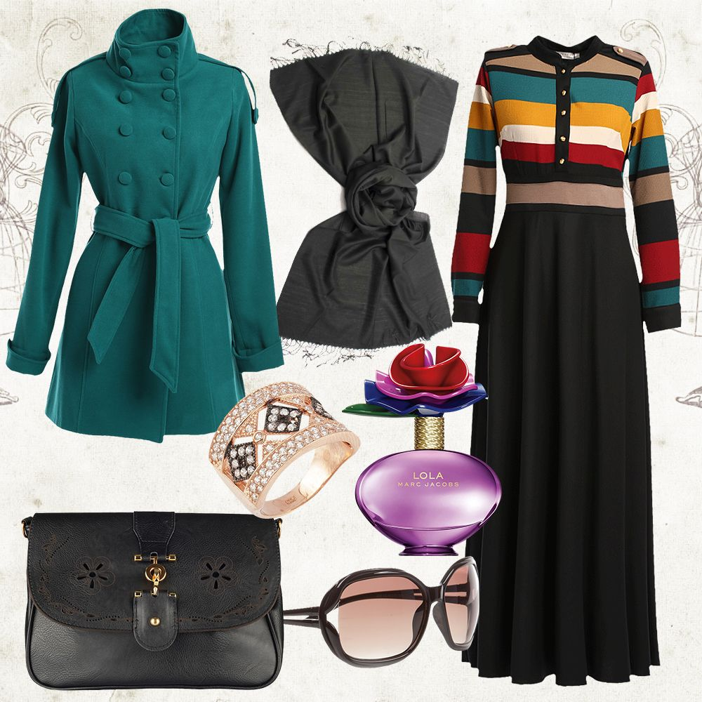 Modanisa Hijap Feminine Dress Hijab Fashion Cute Outfits