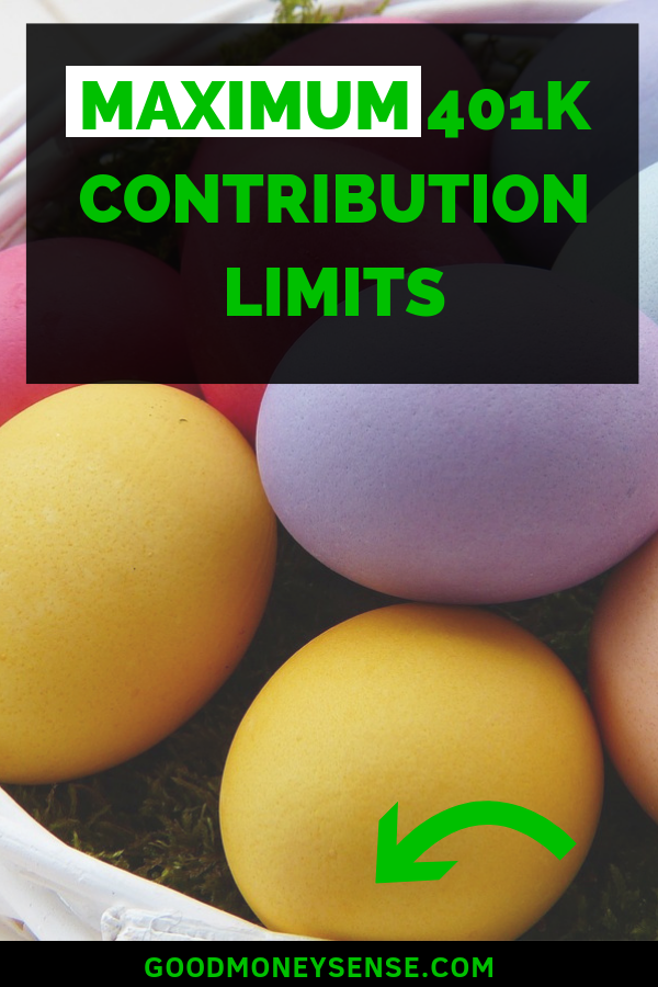 401k Contribution Limits for 2019 #financenestegg One of the best way to save money for retirement while saving on your taxes is with a 401k. Discover what the annual contribution limit is that you can contribute to your nest egg. #401k #retirement #nestegg #retire #finance #personalfinance #401kpla #financenestegg