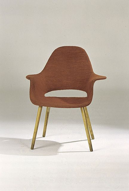 Charles Eames And Eero Saarinen; Armchair For MOMAu0027s U0027Organic Designs In  Home Furnishingsu0027 Competition, 1940.
