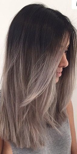 28 Amazing Gray Ombré Inspirations – Hair Colour Trends for 2019