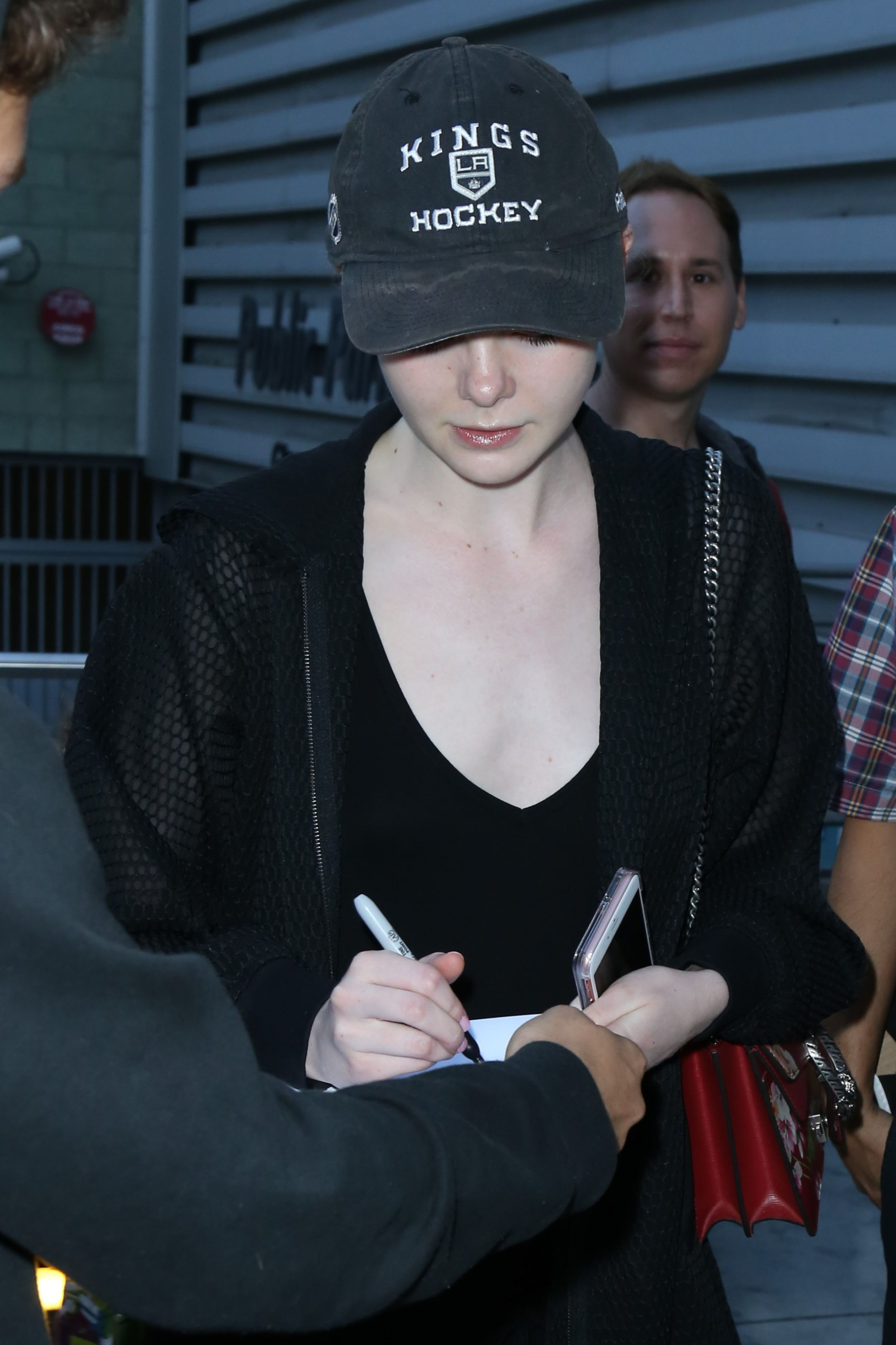 Elle Fanning at the Arclight Hollywood Theater in LA 7/7/16