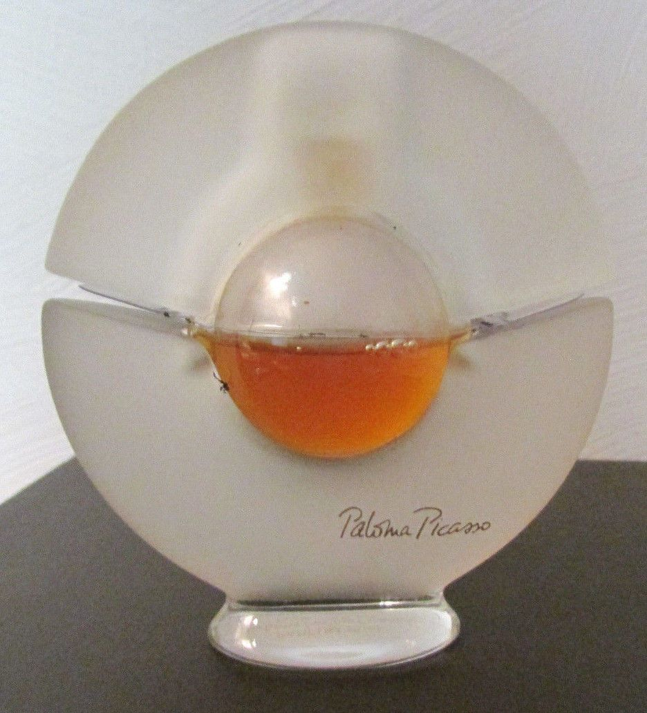 851d2bf84765 Rare Find VTG Paloma Picasso Parfum Pure Perfume Crystal Bottle 15 ml 60%  Full