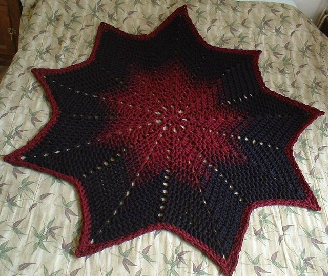Ravelry: 9-Pointed Star Round Ripple pattern by Gene Saunders ...