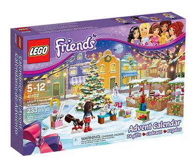 Calendrier De Lavent De Lego Friends Réf 41102 Moins Cher En