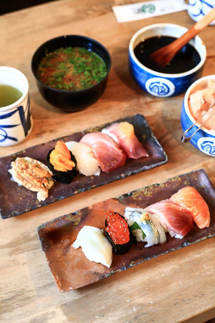Endo Sushi The Best Sushi Restaurant In Osaka Ladyironchef