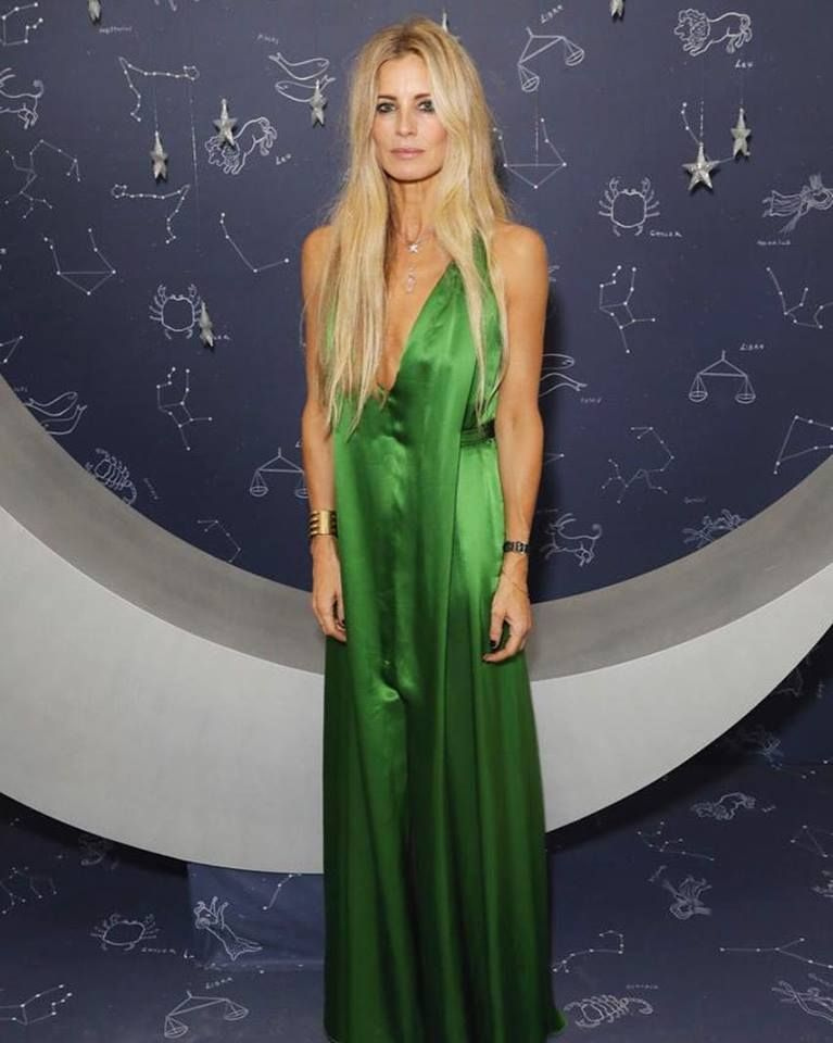 293438e94 Laura Bailey wears a Summer 2019 dress to the British Vogue party ...