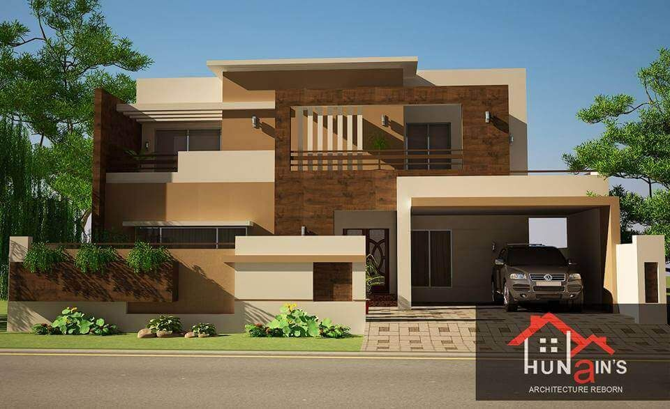 Contemporary house design by hunain   architecture kanal also rh pinterest