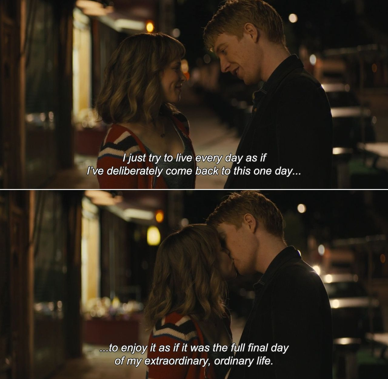 About Time (2013)Tim: I just try to live every day as if I ...