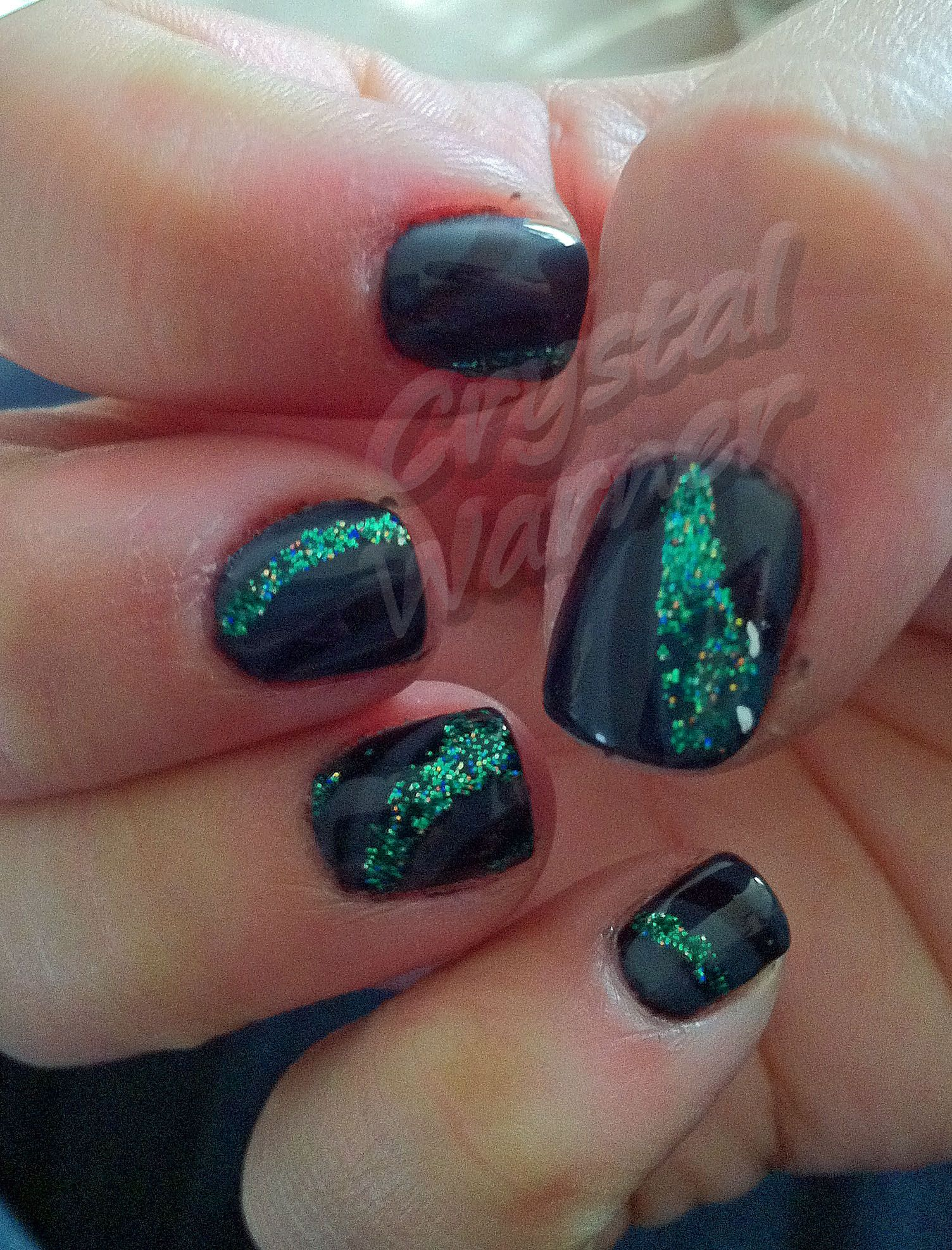 Shellac with some glitz!