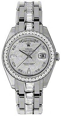 18956 Rolex Day Date Special Edition Watch Meteor Diamond Dial
