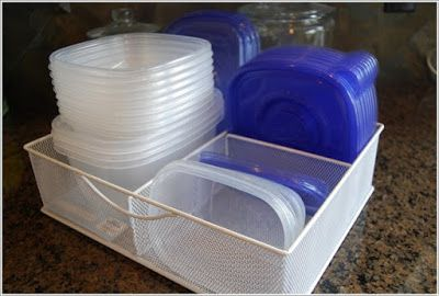 Clever Tupperware Storage Solutions   Home Interior Designs