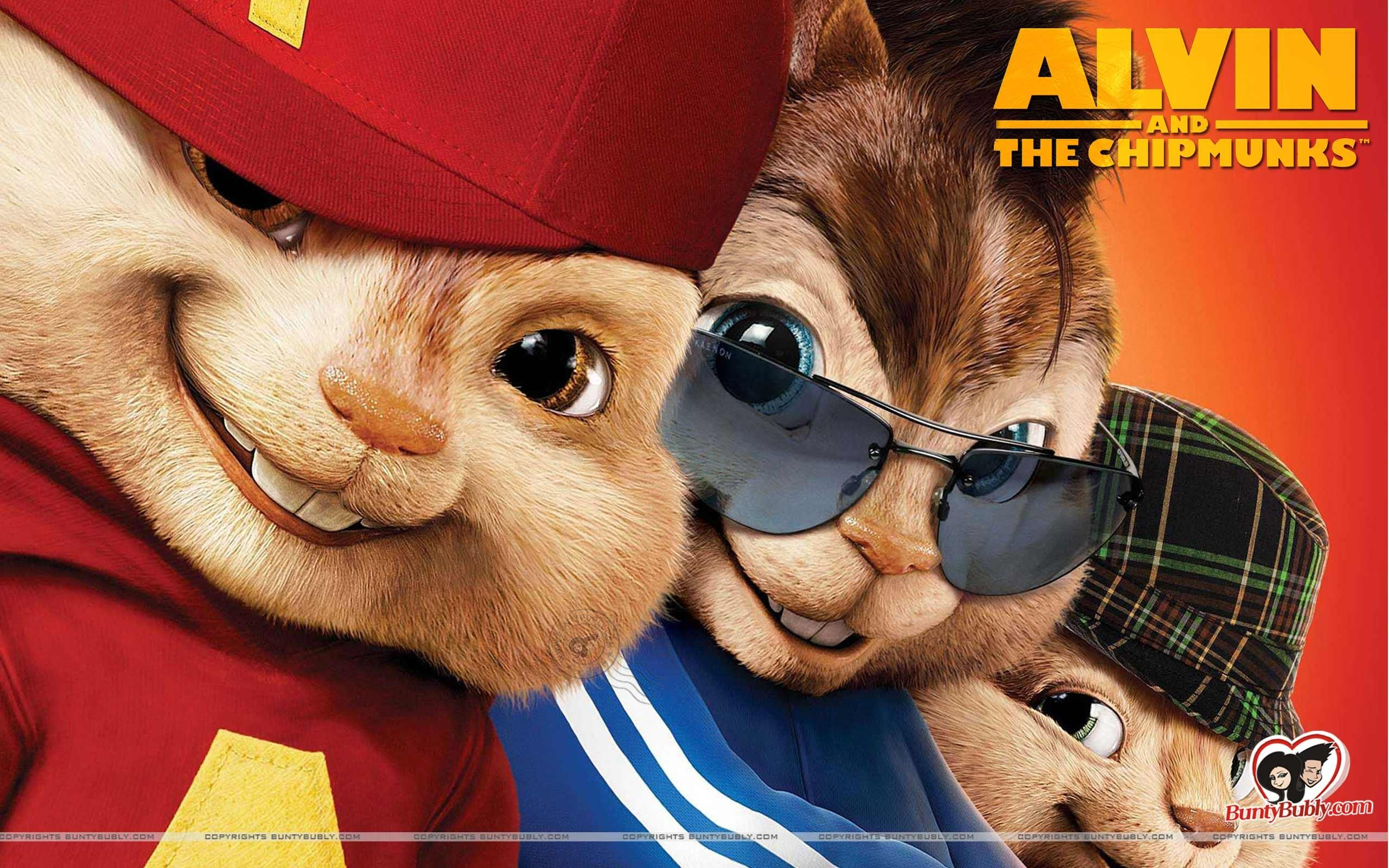 Alvin And The Chipmunks Movie Wallpaper Alvin And The Chipmunks