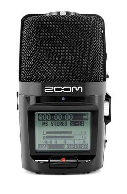 Zoom H-2N, Portable WAV/MP3 Recorder for M/S and Surround (2-/4-Channel) with five build-in capsules, up to 24 Bit/96 thomann kHz (WAV) or 320 kb/s (MP3), record on SD/SDHC-Card up to 32 GB. -Manne use this for recording our concerts!