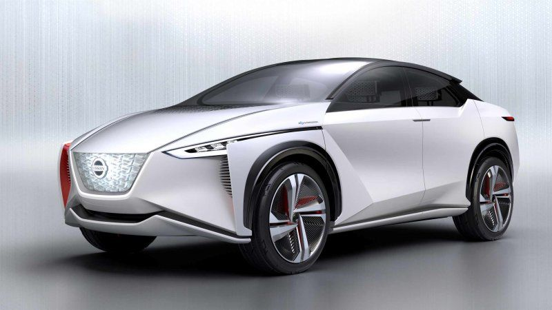 Nissan Previews Coming Imx Inspired Ev Crossover For U S Dealers Nissan Electric Car Nissan Ev Nissan Electric