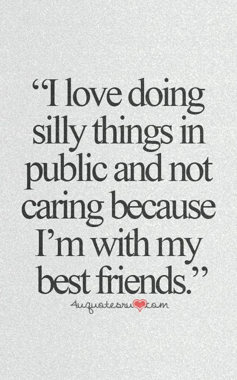 i love my friends :) | Cute friendship quotes, Cute quotes ...