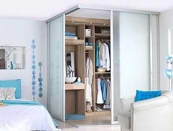 como hacer un vestidor en un dormitorio pequeo - Dormitorio Con Vestidor