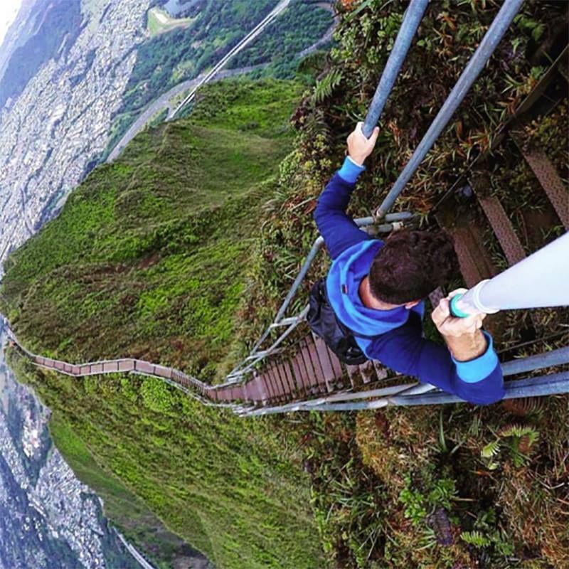If climbing the Haiku Stairs (aka the Stairway to Heaven ...