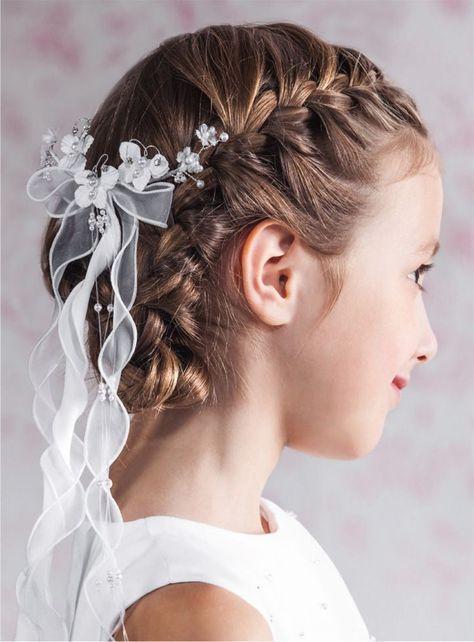30 Kinderfrisuren Fur Madchen Zur Hochzeit Und Kommunion