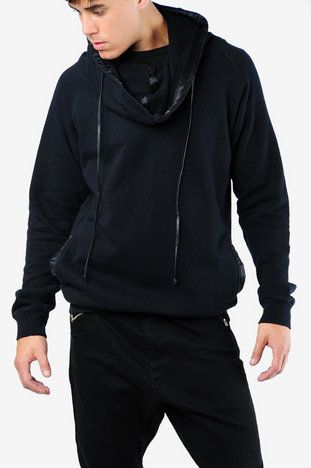 Hoodie worn by Milburn in Prometheus. Unconditional Funnel Neck Sweatshirt.  I want one SO