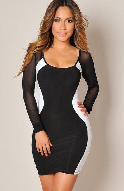 Sexy, monochrome look #hourglassfigure #waisttraining # ...