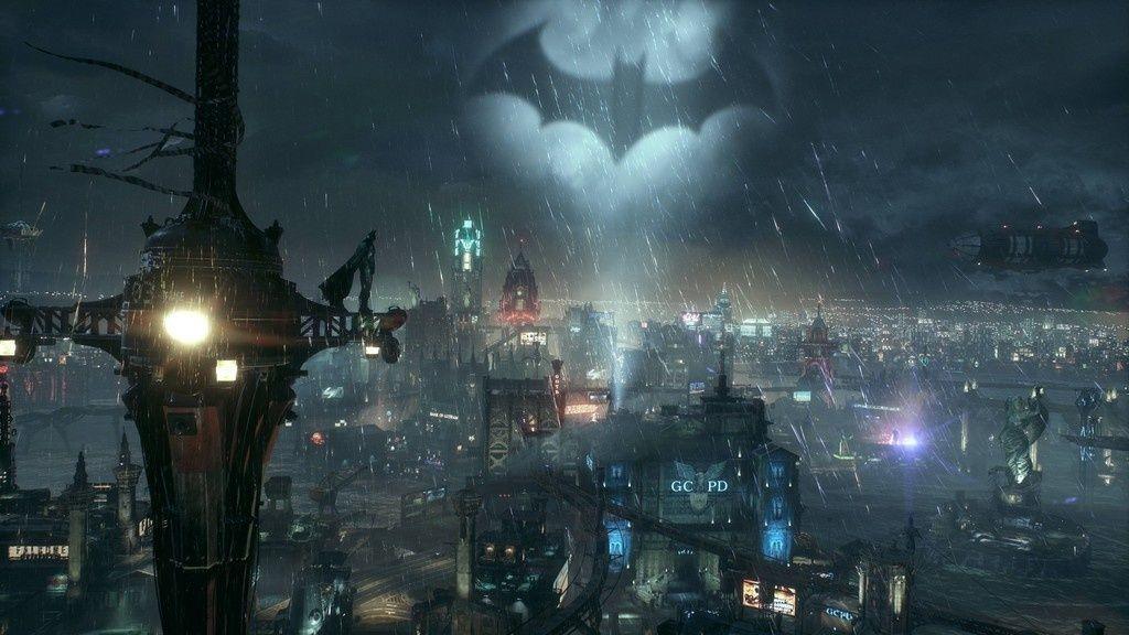 Bat light, sky, night, batman, 4k wallpaper Batman