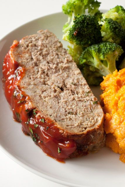 This lighter turkey meatloaf recipe turns out tender and full of flavor every single time! Made with Parmesan, oregano, and just a touch of breadcrumbs!