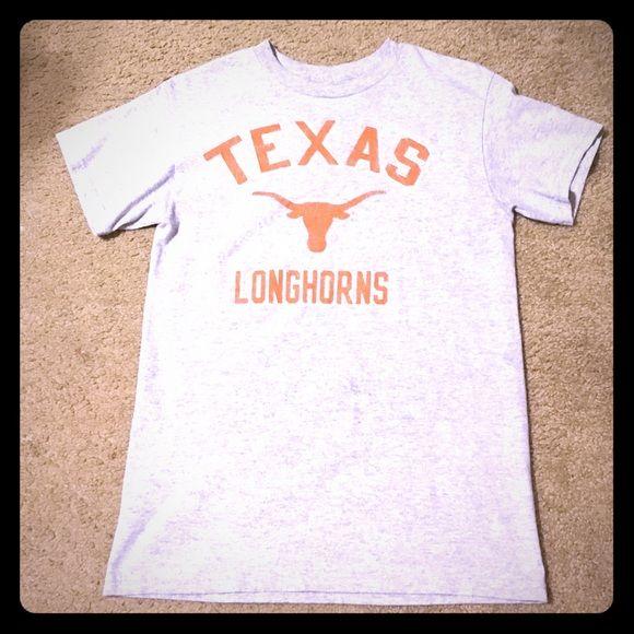 Texas Longhorn tshirt Basically brand new Texas Longhorns tshirt. Size is small Tops Tees - Short Sleeve