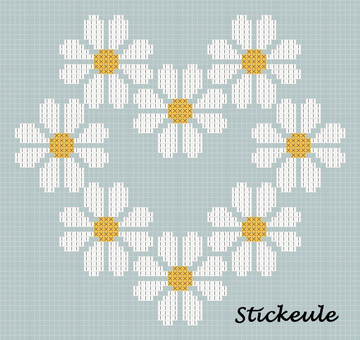 cross titch pattern for more go to http://stickeule.blogspot.co.uk ...