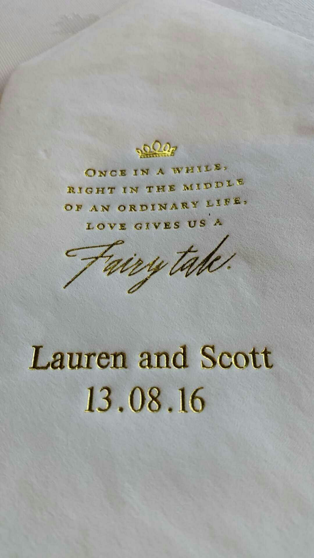 Disney Wedding Quotes Lauren And Scott's Disney Themed Wedding At The Fable Httpwww