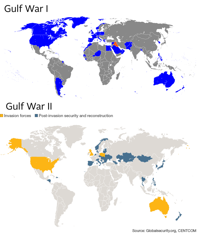 Maps That Explain The Crisis In Iraq - Us map initials