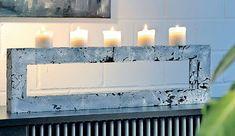 kerzenhalter selber machen bastelideen diy pinterest kerzenhalter m bel und dekor. Black Bedroom Furniture Sets. Home Design Ideas