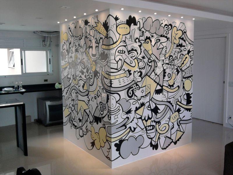 Cubo mágico no mei da sala. Arte: Loro Verz www.loroverz.com #loroverz #art