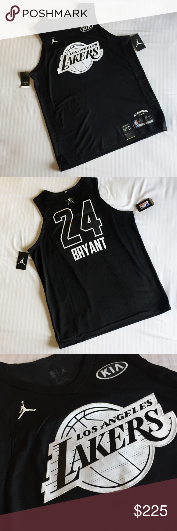 new style 3b5fa 6c658 Jordan Kobe Bryant All Star Jersey LA 928867-016 Selling a ...