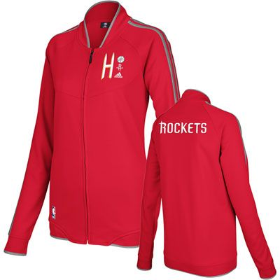 Houston Rockets Women s adidas On-Court Track Jacket  rockets  houston  nba 97547d05e