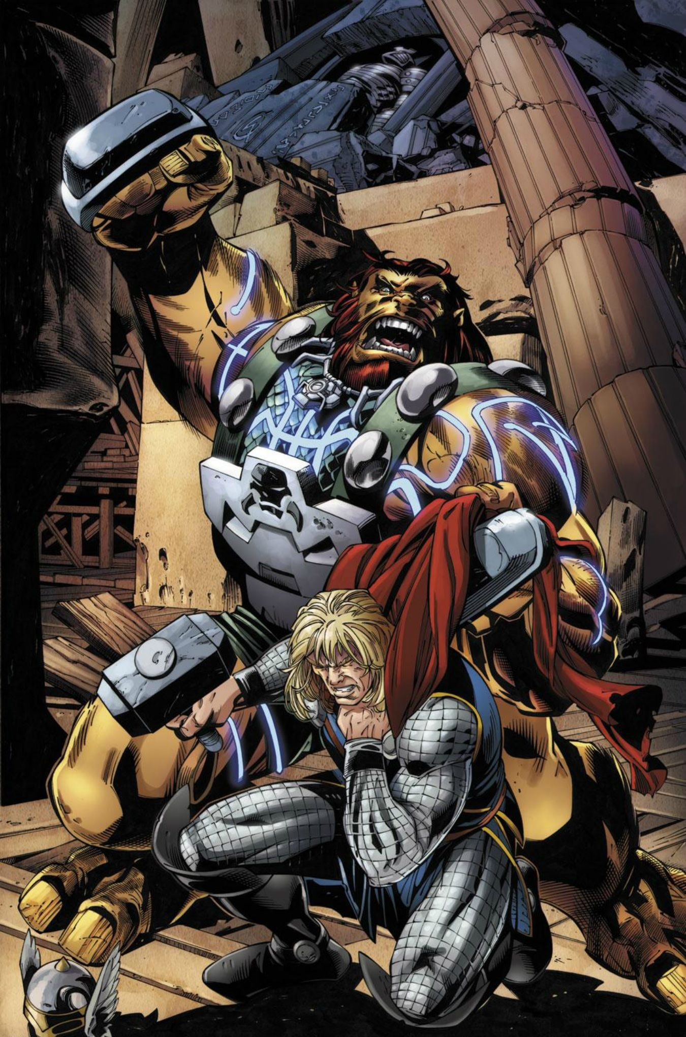 Thor vs ulik by scot eaton avengers enemies and allies pinterest - Mechant avenger ...