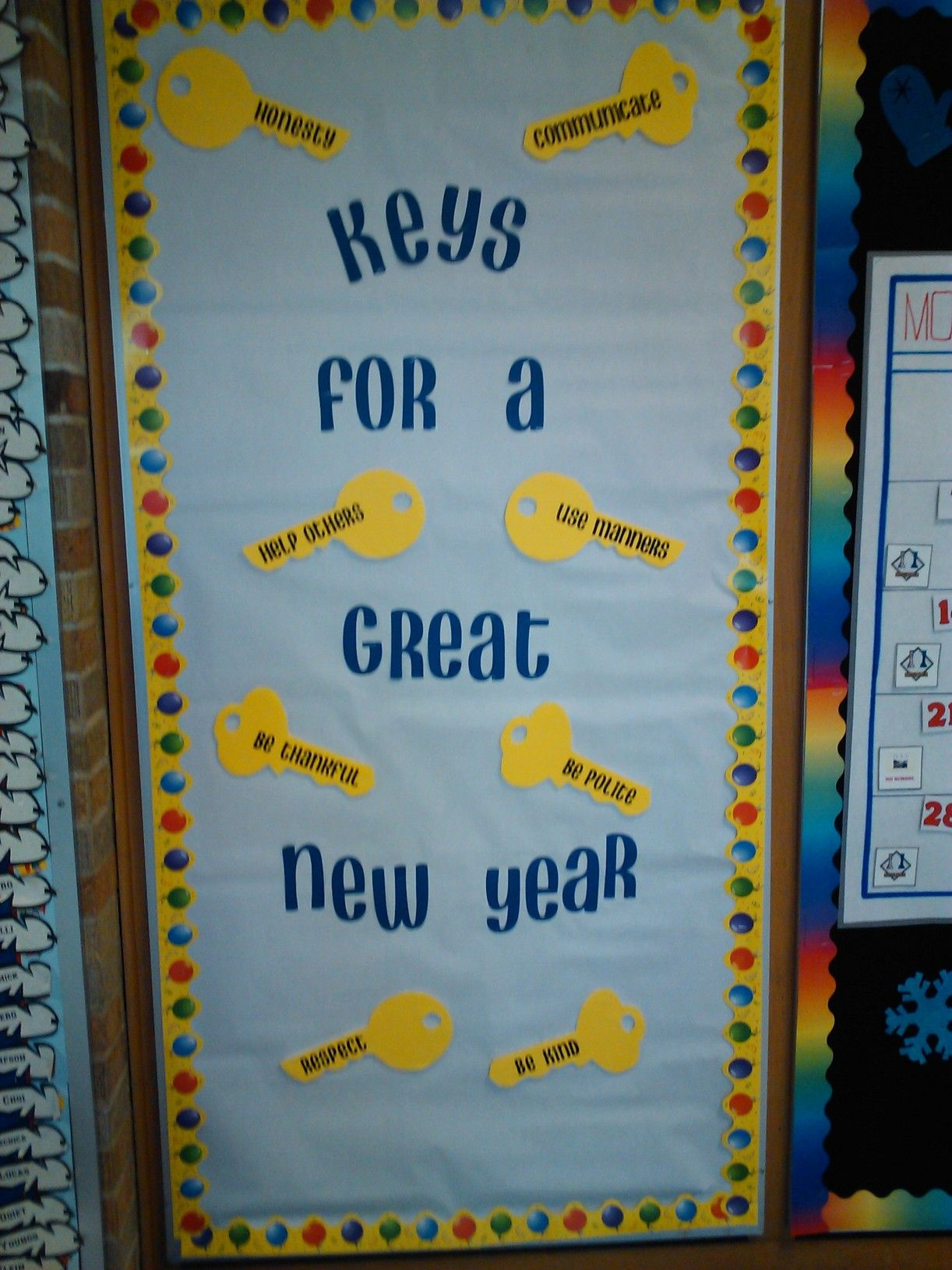 Happy New Year Bulletin Board Ideas 40