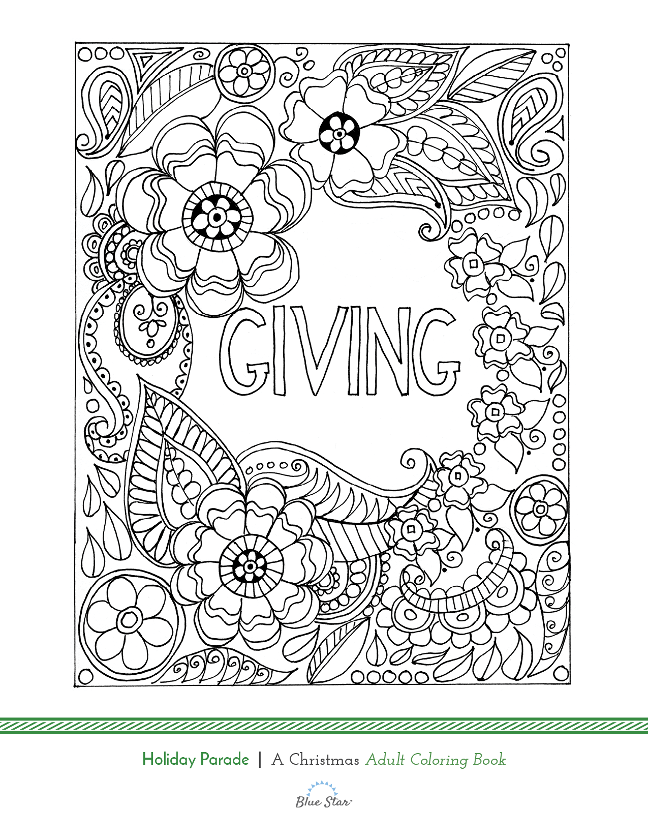 Another free adult coloring book page from our new release