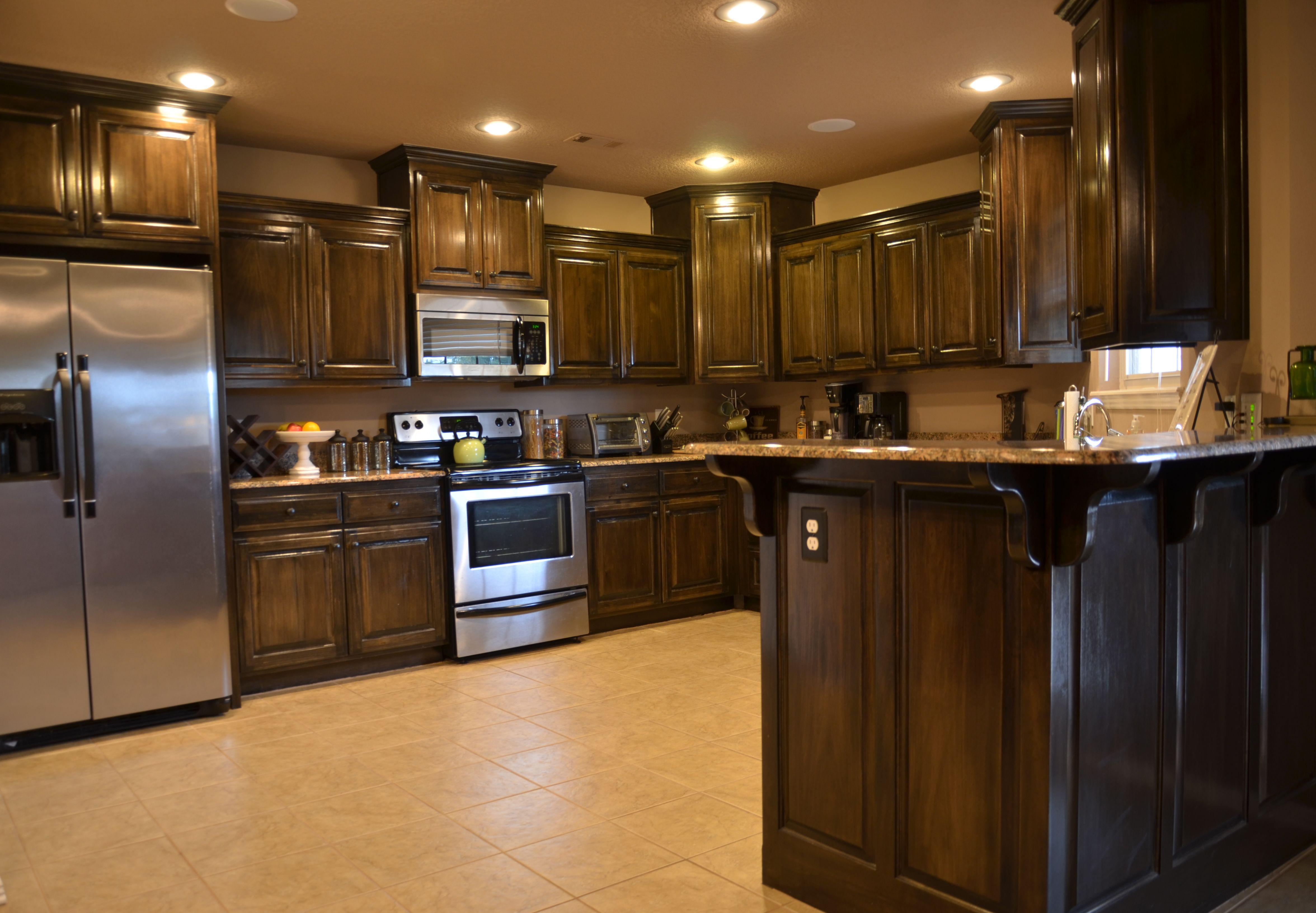 Beautiful Dark Kitchens