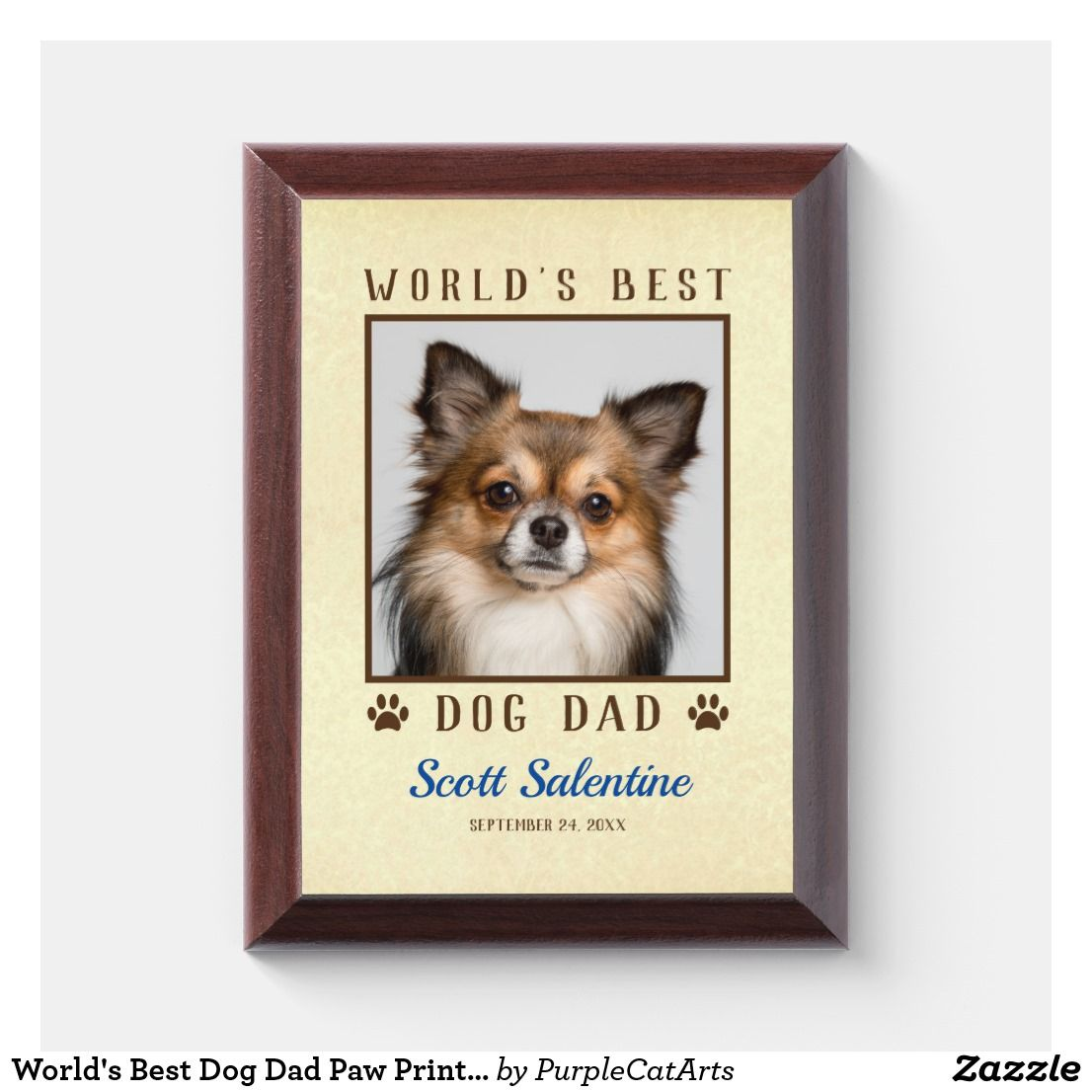 Picture Frame For Dog Book