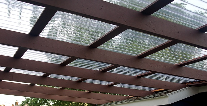 Porch With Pergola And Corrugated Roof Building A Pergola Help Me Plan It Landscaping Lawn Care Diy Building A Pergola Outdoor Pergola Pergola