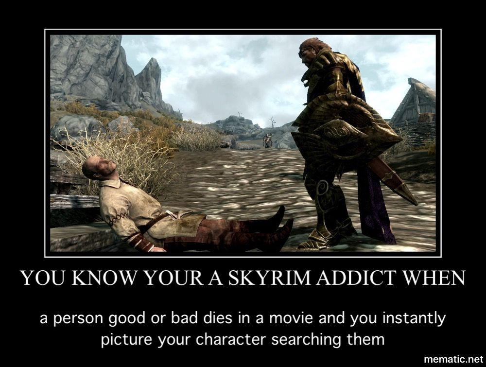 Pin By Christy On Skyrim Skyrim Funny Elder Scrolls Memes