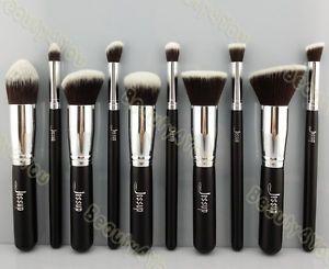 Jessup New Makeup Brush Set Cosmetic Foundation blending pencil brushes Kabuki